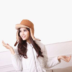 680b3b9e7 China Fashion Women/Lady Winter Sheepskin/Sheep Skin Ear Flap Hats ...