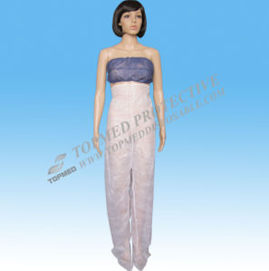Nonwoven Disposable Long Pants for Beauty Salon pictures & photos