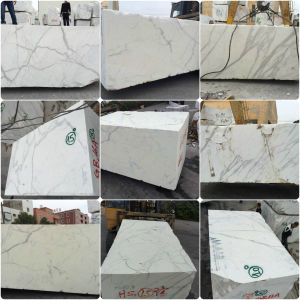 Wall Tile Products Carrara White Marble Stone for Decoration Material