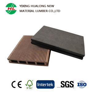 China Supplier WPC Hollow Composite Decking for Outdoor pictures & photos