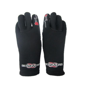 Gloves with Waterproof Printing for Diving & Fishing (HX-G0049) pictures & photos