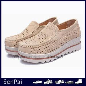 China New Design Shoes High Flat Heel
