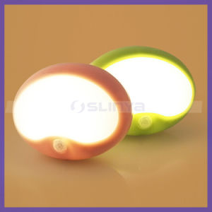 Egg Shaped Sensor LED Stick on Baby Room Night Light pictures & photos