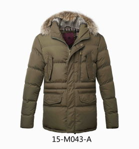 Men′s Winter Casual Hooded Parka Jacket pictures & photos