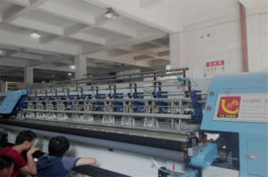 High Speed Shuttle Multi-Needle Quilting Machine for Quilts Comforter 128 Inches pictures & photos