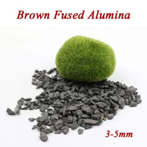 Fined Quality 3-5mm Brown Fused Alumina for Sandblasting pictures & photos