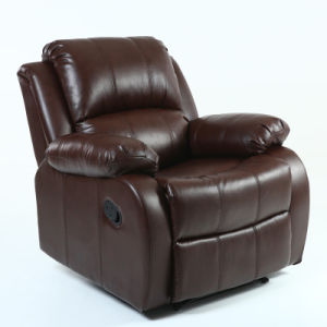 Manual Reclining Luxury Single European Style Home Theater Recliner Sofa