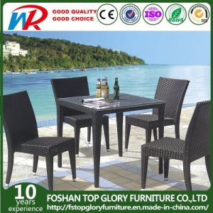 Outdoor Rattan Chair And Dining Table