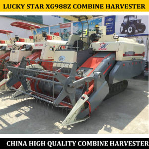 Hot Sale 4lz-5g Farm Combine Harvester, Luckystar Xg988z for Rice and Wheat, Xg988z Combine Harvester pictures & photos