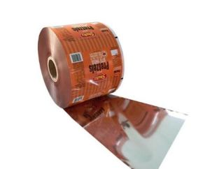 Plastic Laminated Aluminum Foil Roll Film for Food Package pictures & photos