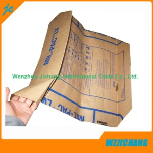 Square Bottom Kraft Paper Bags Wholesale for Cement Bags pictures & photos