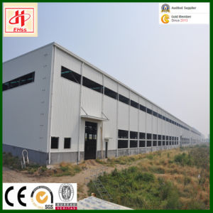 Large Span Prefab Portal Steel Frame for Warehouse