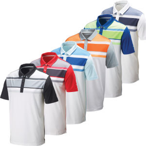 Custom Embroidery Promotional Color Combination Polo T Shirt (A804)