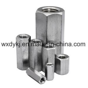 DIN 6334 Stainless Steel Hexagon Head Hex Coupling Nuts