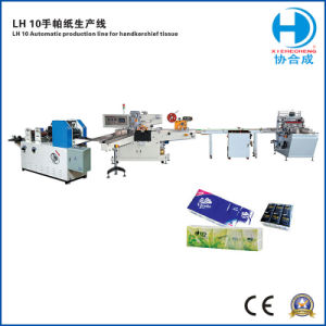 Tissue Paper for Pocket (packing line) pictures & photos