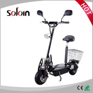 Foldable 2 Wheel Lead-Acid Battery Brushless Street Electric Scooter (SZE1500S-2)