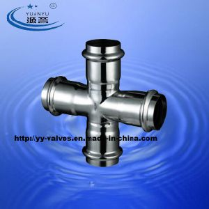 Stainless Steel Compression Fittings Cross pictures & photos