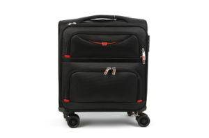 High Quality Polyester Large Capcaity Travel Trolley Case Set
