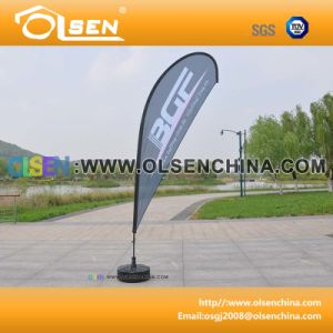 3.4m Aluminum Flagpole for Flag Supporting pictures & photos