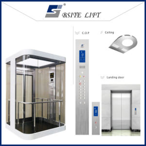 Machineroomless Glass Observation Elevator/Lift