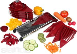 Kitchen V Blade Mandoline Slicer - Deluxe Heavy Duty Stainless Steel pictures & photos