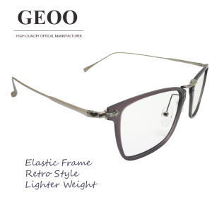 Tr + Stainless Lamination Retro Optical Frame (XA0261F-03)