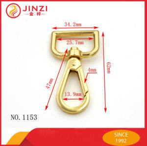 High Quality Cute Small Swivel Bag Snap Hooks pictures & photos