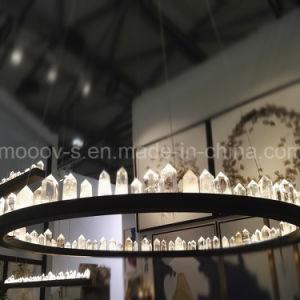 Modern Large Luxury Black Round Ring