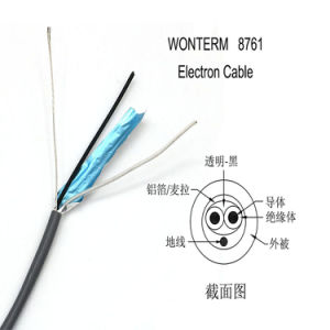 Wonterm 8761 Electronic Wire 1p 22AWG Overall Screened Control Cable pictures & photos