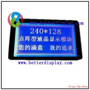 LCD LCM Stn Blue Standard Character Modules 240*128 pictures & photos