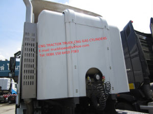 CNG Gas Road Transportation Truck Tractor