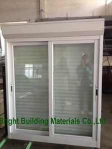 Aluminium Sliding Window with Mosquito Net/Fly Screen Design pictures & photos