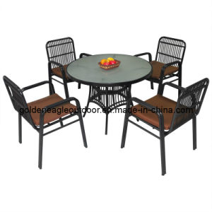 All-Weather Dining Patio Furniture Outdoor Garden Wicker Chair (FP0246)