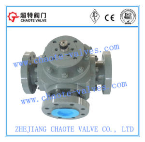 Three-Way Ball Valve (Q44F)
