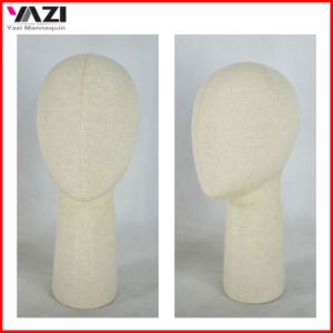 Fabric Covered Female Head Mannequin for Head Display pictures & photos