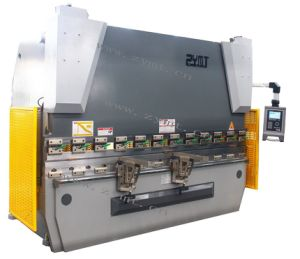 CNC Hydraulic Bending Manchine (zyb-125t*3200) with Da52s pictures & photos