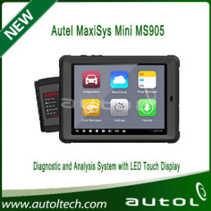 Autel MaxiSys Mini MS905 Automotive Diagnostic and Analysis System with LED Touch Display pictures & photos