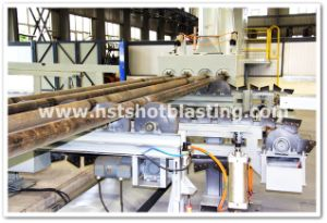 Oil and Gas Field Tubing Descaling Sand Blasting Cleaning Machinery