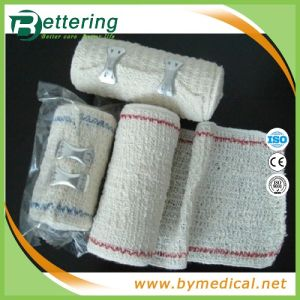 Red/Blue Thread Elastic Crepe Bandages pictures & photos