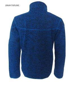 Men Knitted Polar Fleece Casual Jacket with Moisture Management for Sports Wear pictures & photos