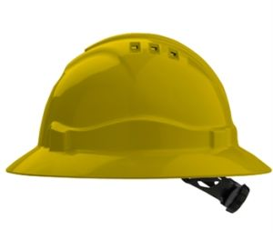 New Style Ventilated Full Brim Safety Hard Hat Ce397