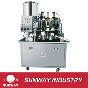 Aluminum-Plastic Tube Filling and Sealing Machine (B. GF-40) pictures & photos