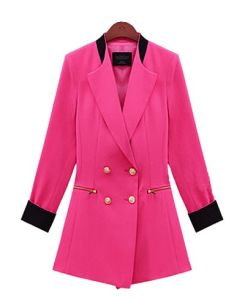 Trendy Fat Women New Design China Fashion Coat (S3010015)