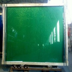 5mm Dark Green Reflective Glass with CE & ISO9001