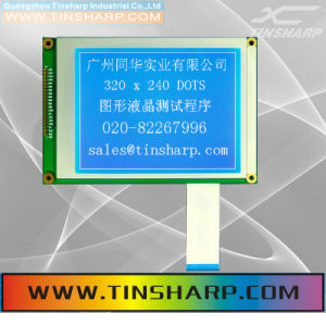 320X240 Graphic LCD Module with Blue Backlight