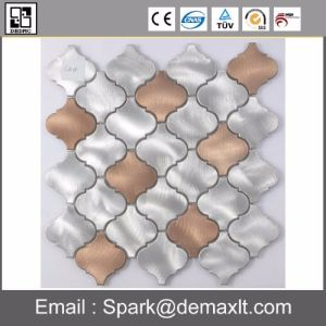 Good Quality Square Metal Mix Crystal Glass Mosaic Tile
