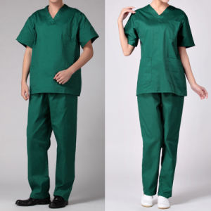 Customized Factort Price Unisex Medical Nursing Uniform pictures & photos