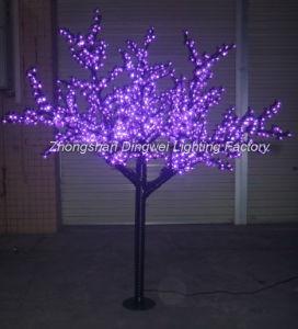 Outdoor Led Purple Cherry Blossom Tree