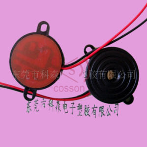 Lead Terminal ABS Housing Material Piezo Buzzer