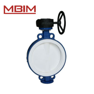 Steel Lined Butterfly Valve (DN40-DN1200) pictures & photos